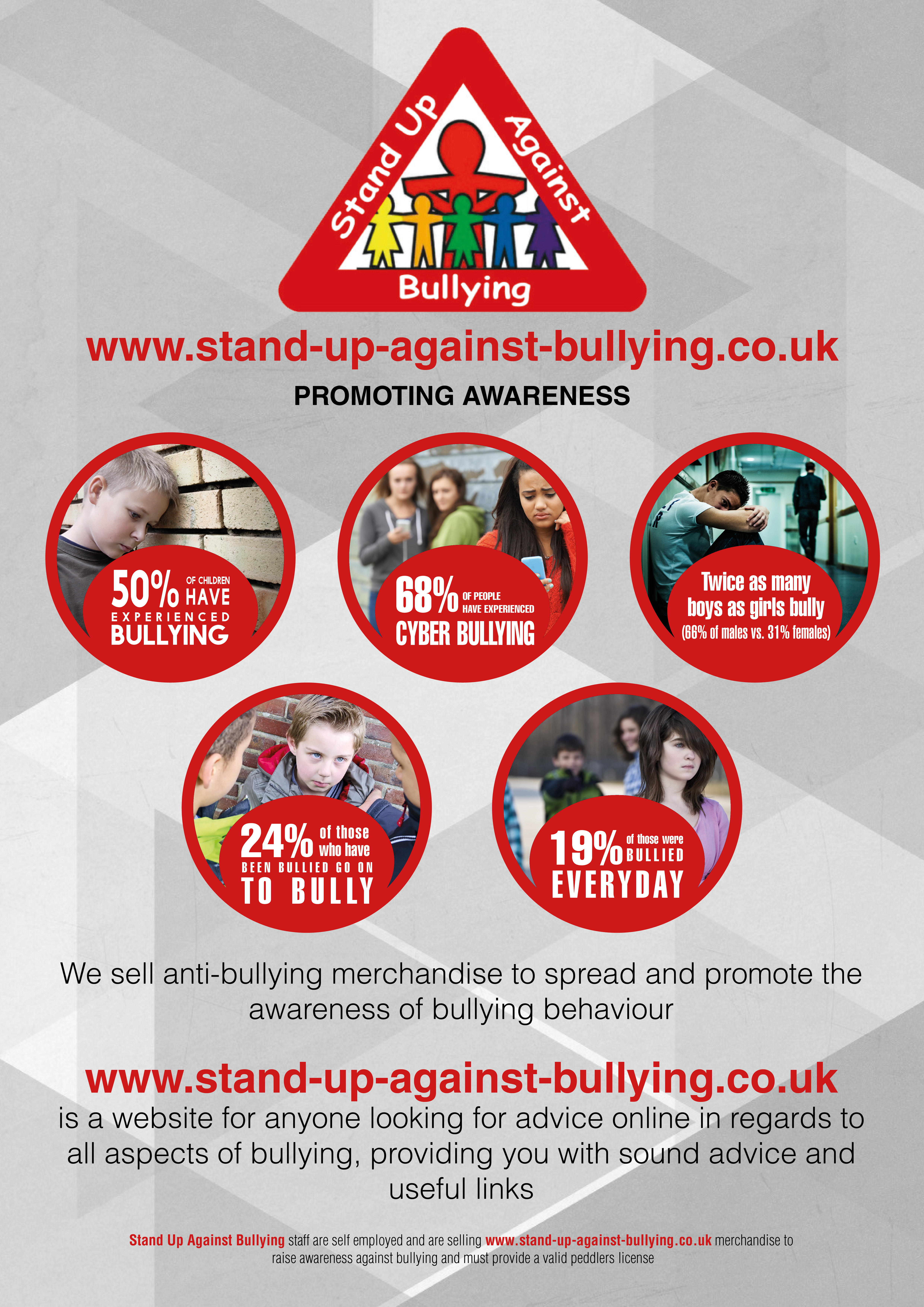 Stand Up Against Bullying A2 Poster